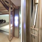 Jerry Seinfeld vehicle lift elevator, New York, Manhattan