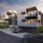 Mateo Lofts, four duplex apartments in San Clemente, CA
